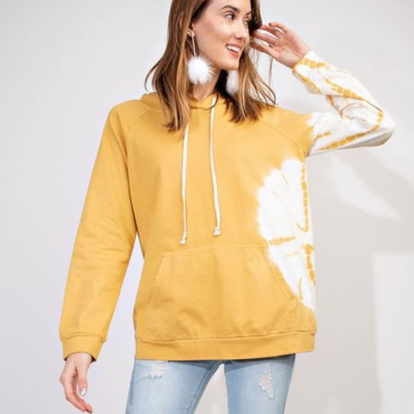 quality design 97ae0 d136a easel oversize pullover tie dye sweatshirt hoodie Boutique